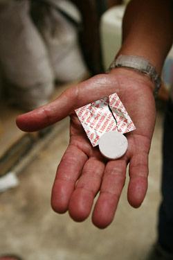 錠剤型の酸化防止剤