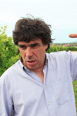 普段はユーモアを交える語り口のテンペだが、ワインの時は真剣そのもの。彼のワインに対する真摯さが伺える